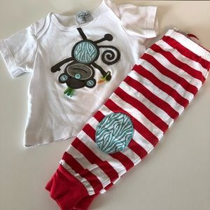 Mud pie boys outfit